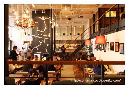 CAFE ZENONの店内
