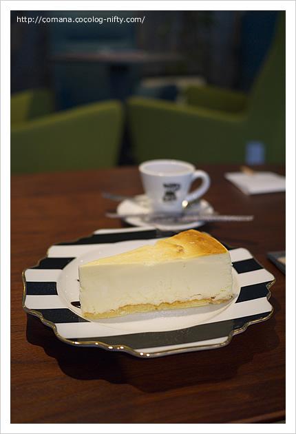 ジュニアーズのチーズケーキ!