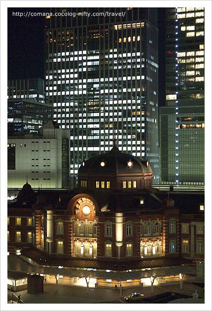 夜の東京ステーションホテル・ドーム