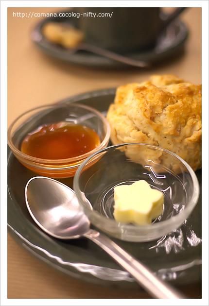 バターがかわいいけど少なすぎ