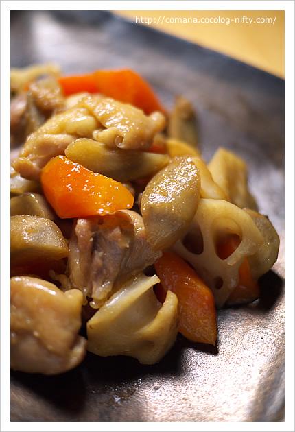 「運」を盛る、鶏と根菜の炒り煮