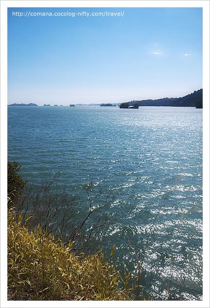 青い海で目の保養