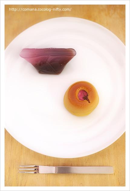 菓匠清閑院の桜の和菓子