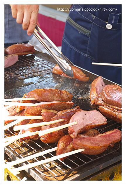 鶏肉ハムのロースト