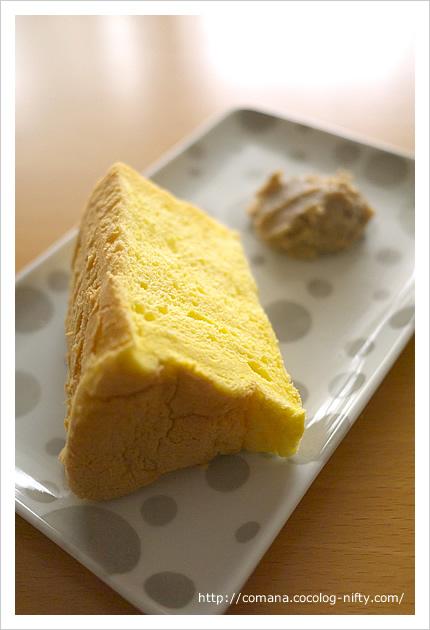 ぐーちょきパン屋のシフォンケーキ