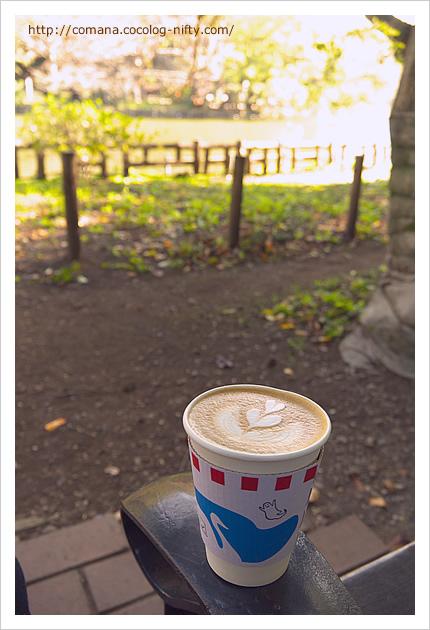朝の井の頭公園とブルースカイコーヒー