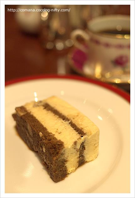 ホシヤマ珈琲店のチーズケーキ