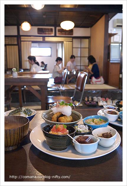 奈良では珍しいおしゃれ和カフェ