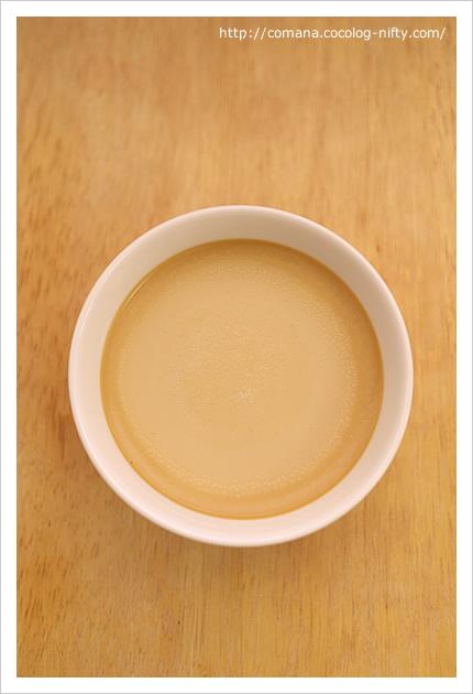 カレル紅茶プリン