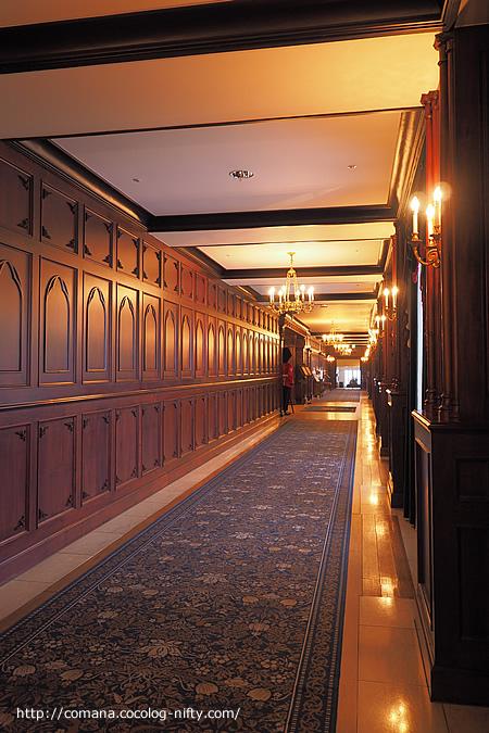 マナーハウス廊下