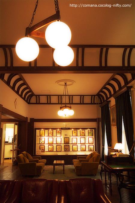 富士屋ホテル館内