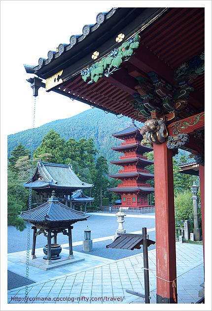 久遠寺の朝