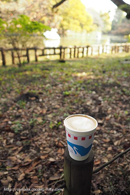 ブルースカイコーヒーとスワンボート